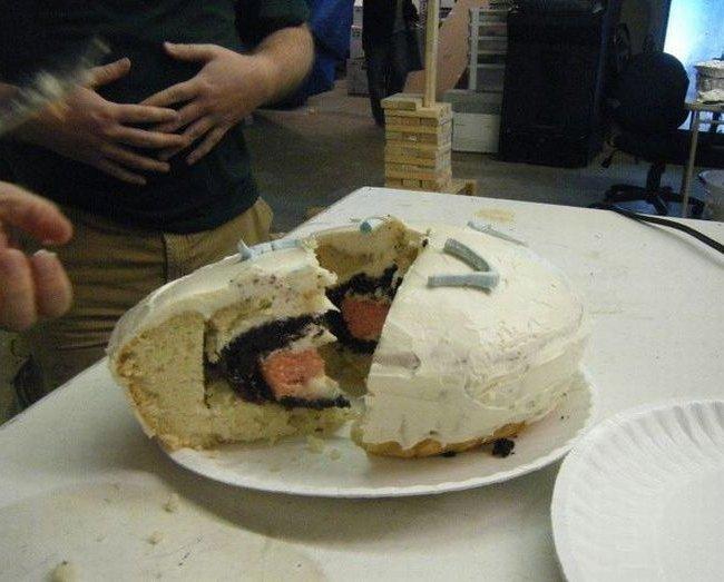 торт другу на день рождения прикольные