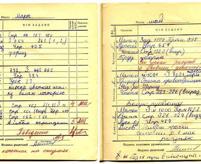 Страницы Школьного Дневника Чистые Картинки