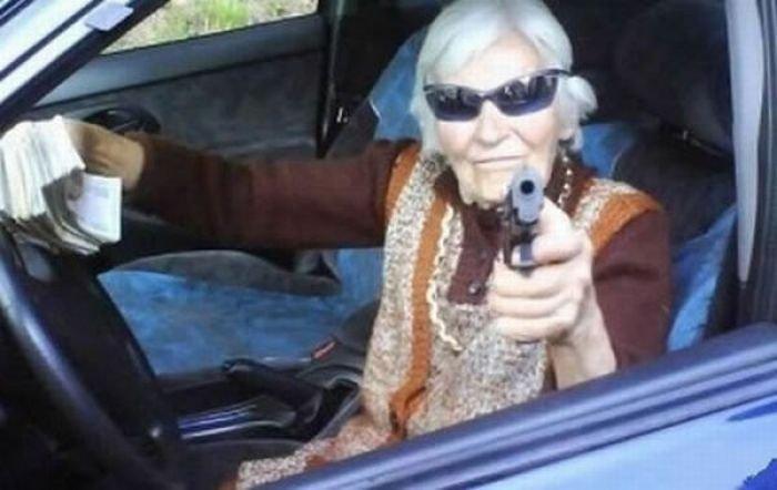 бабушка с автоматом картинки составить ходатайство