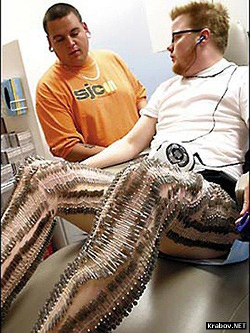 Экстремальный пирсинг гениталий 25 фотография