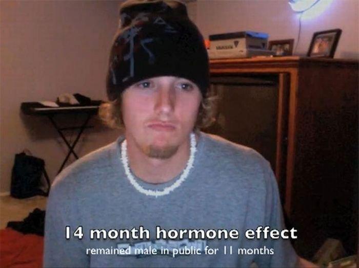 И он начал принимать гормоны смотрим