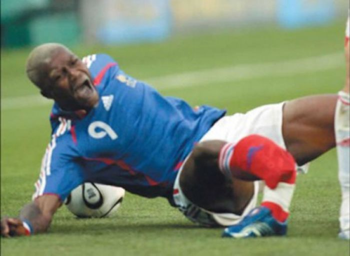 спортивная травма фото