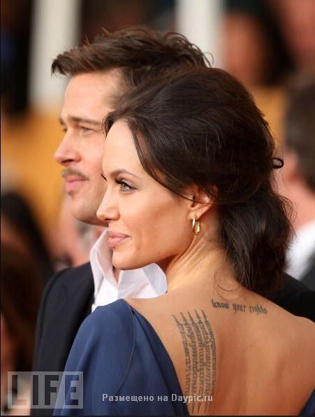 Татуировки голливудских красавиц 17