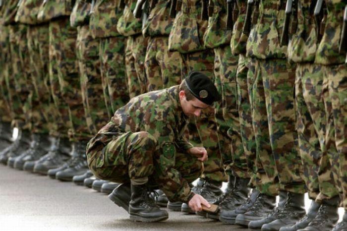 Забавные армейские будни 28 фото