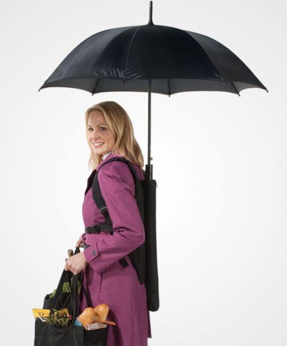 Зонт своими руками для фото