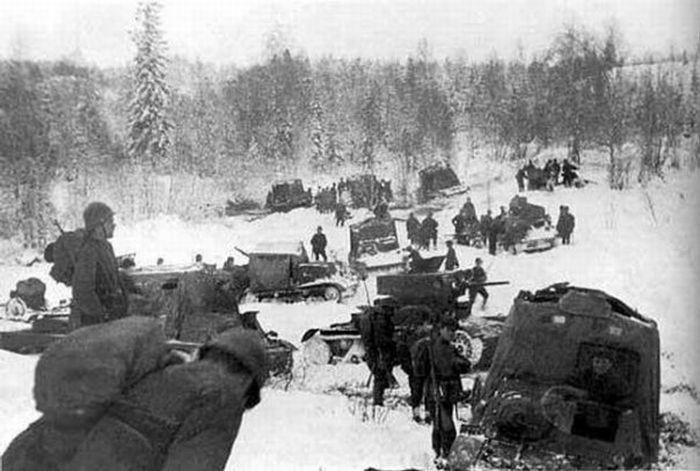 Вторая мировая война зимой 55 фото