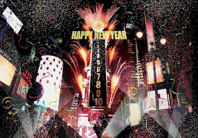 Как встречают новый год в америке