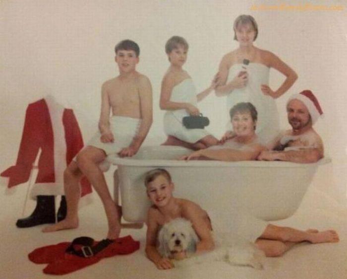 Nude family foto