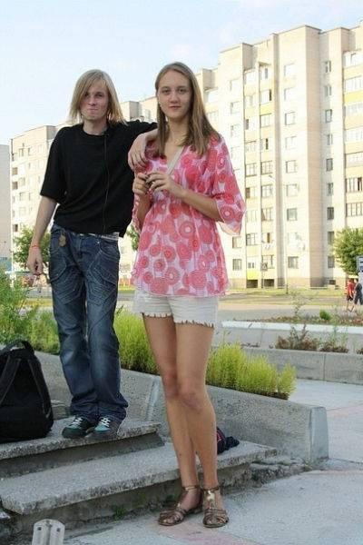 Высокие девушки она ищет его