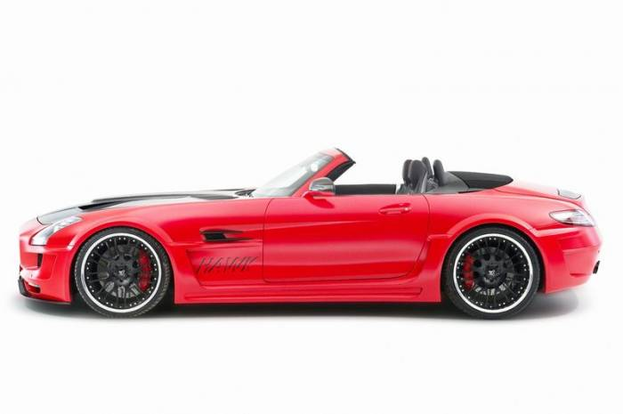 Mercedes SLS AMG Hawk Roadster от ателье Hamann (46 фото)