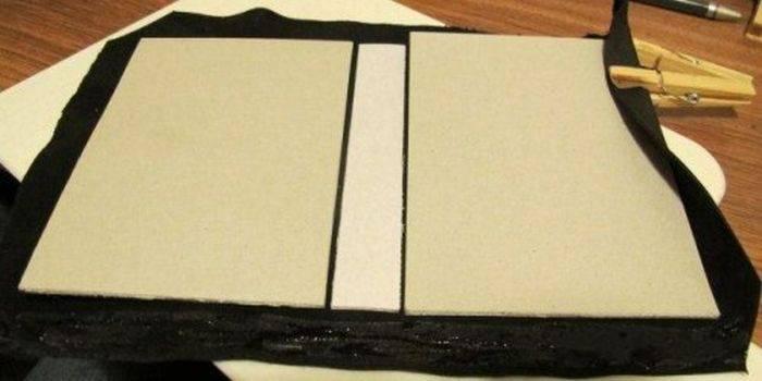 Кожаный блокнот своими руками мастер класс