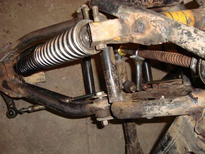 Квадроцикл своими руками из ваза 73