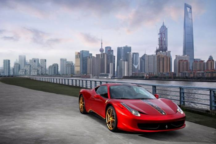 Спецверсия Ferrari 458 Italia для Китая China 20th Anniversary (5 фото)