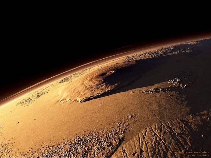 Высочайшая гора солнечной системы