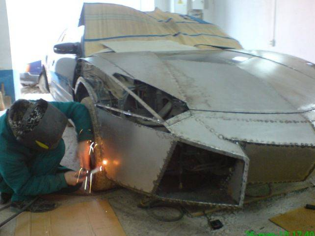 Сделать корпус автомобиля своими руками - Sort-metall.ru