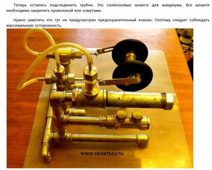 Паровые двигатели в домашних условиях