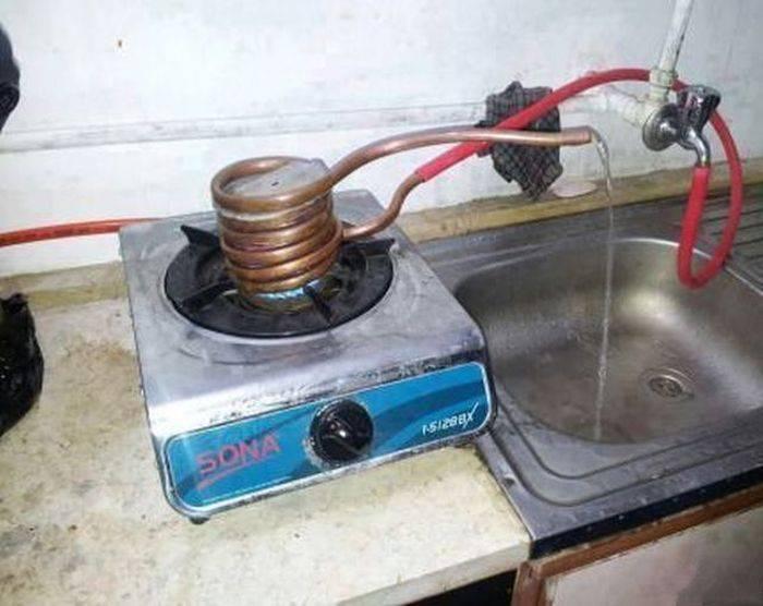 Самодельные проточные водонагреватели своими руками