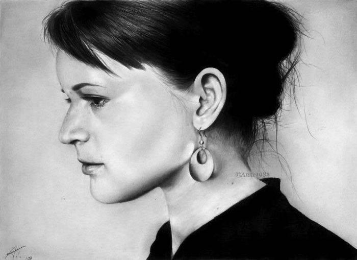Классные портреты карандашом 54