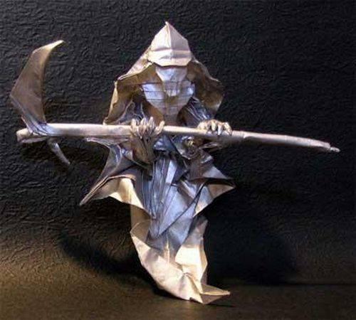 Оригами нет смерти