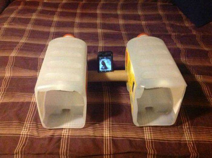 Колонка для телефона своими руками в домашних условиях