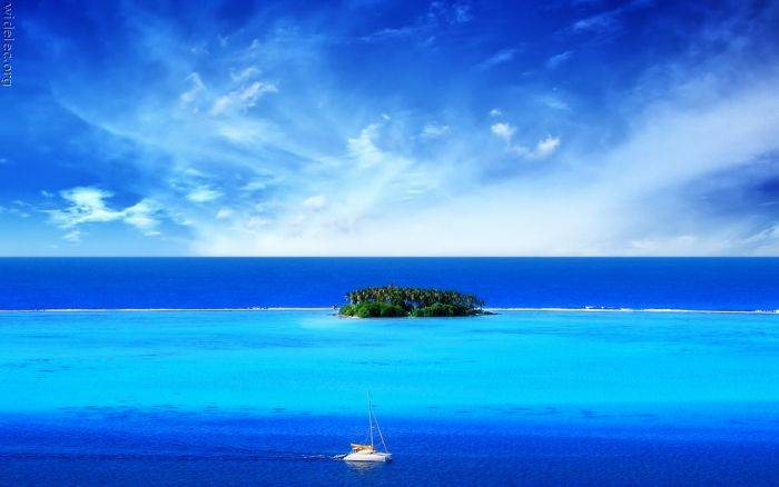 Raj na zemlji (104 fotografije)