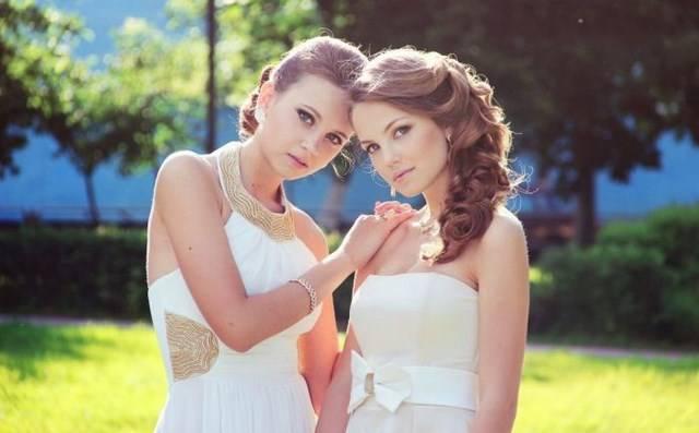 курьезные фото выпускниц 2013