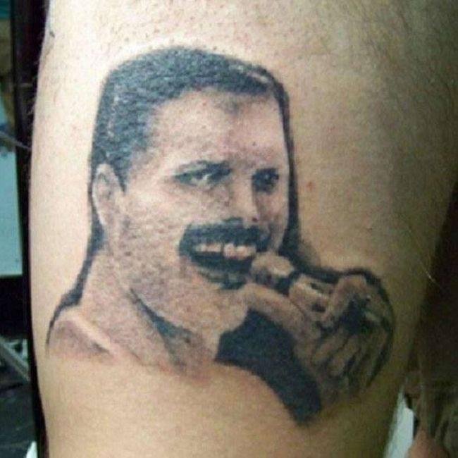 На самые неудачные татуировки