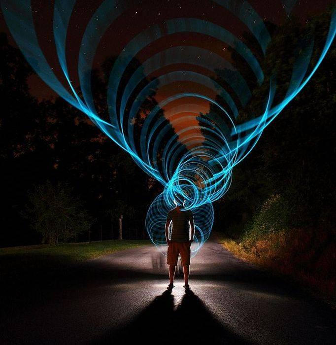 для красивые эффекты фото света