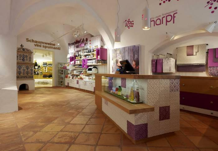 Винный магазин Harpf в Италии (21 фото)