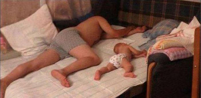 Kakav otac takav sin (28 fotografija)