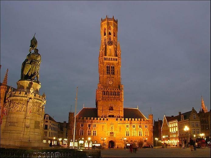 Достопримечательности Брюгге (8 фото)