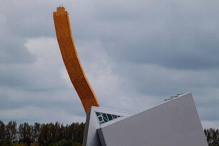 Самый высокий скалодром в мире