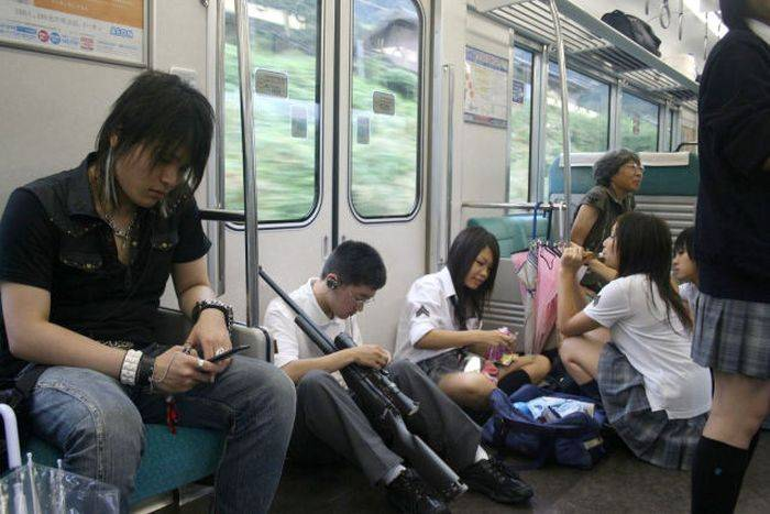 японки в тоансорте
