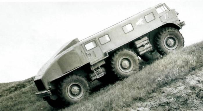 История одного прототипа: ЗИЛ-167 (10 фото)