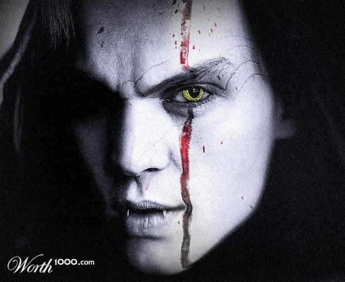 Slavne osobe vampiri (44 fotografije)
