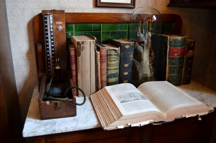Foto izlet u kući Sherlocka Holmesa (85 fotografija)