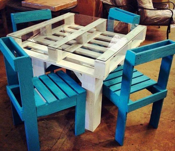 Делаем мебель из поддонов