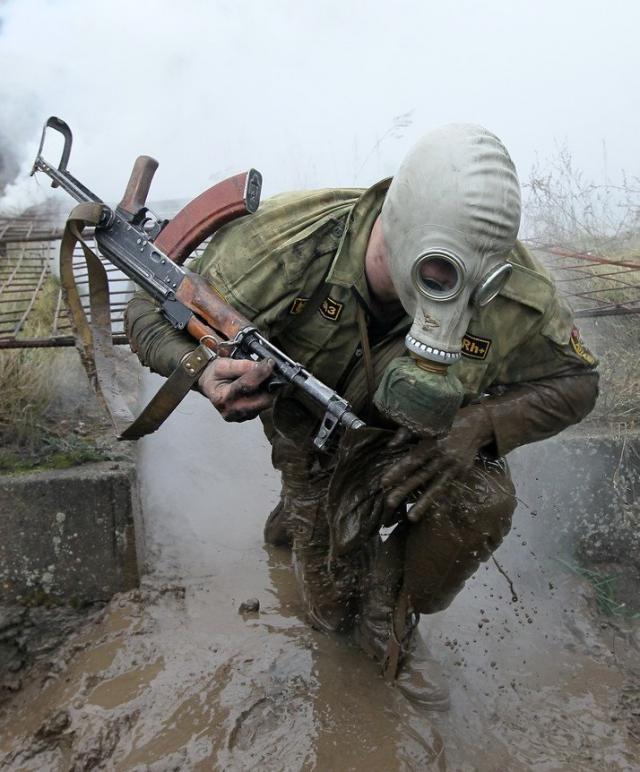 Суровый белорусский спецназ (13 фото)