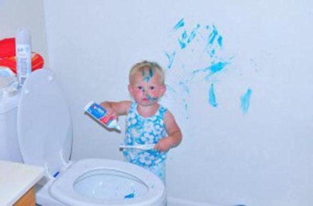 Smiješna djeca (25 fotografija)