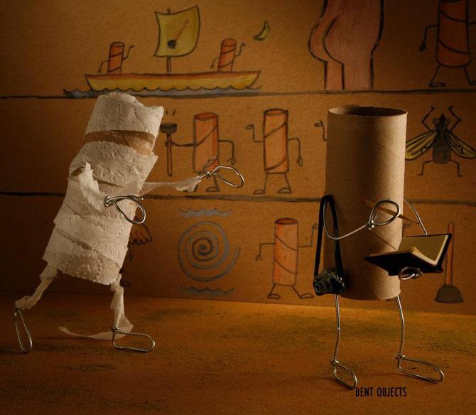 Kreativnost od uobičajenih stvari (29 fotografija)