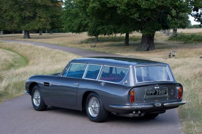Aston Martin DB6 Vantage Shooting Brake (19 фото)