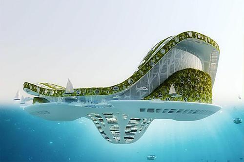 Плавающий город lilypad готов к борьбе с