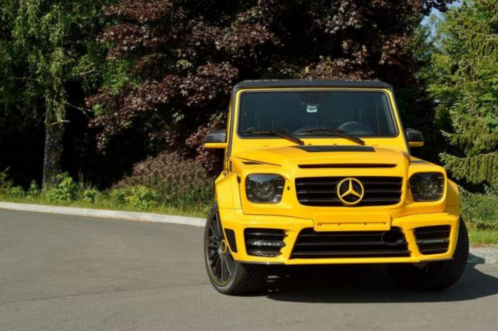 MANSORY: Mercedes-Benz G 65 AMG Gronos (24 фото)