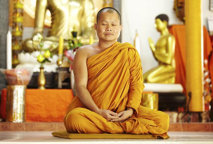Буддийский храм одежда