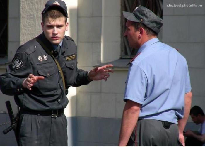 Эти забавные милиционеры (73 фотографии)