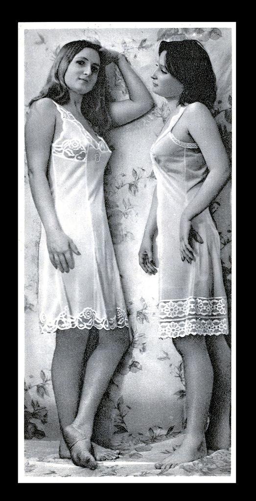ретро фото видео женщин в бабушкином нижнем белье