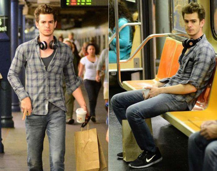 Slavne i poznate osobe u podzemnoj željeznici (35 fotografija)