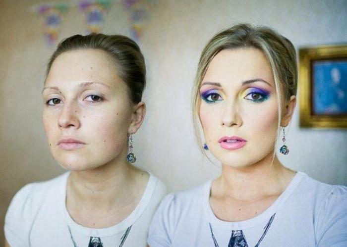 Fan makeup