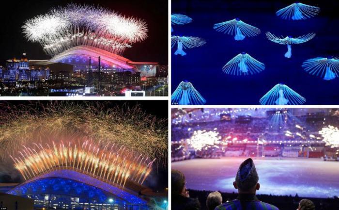 Церемония открытия Зимней Олимпиады 2014 в Сочи (117 фото)