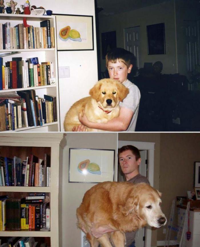 Odrastanje (22 fotografije)